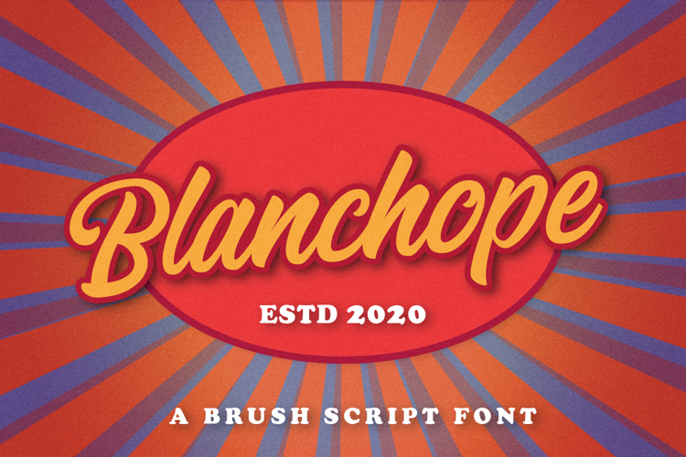 Blanchope Font