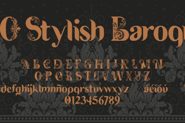 DO Stylish Baroque Font