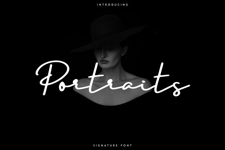 Portraits Font