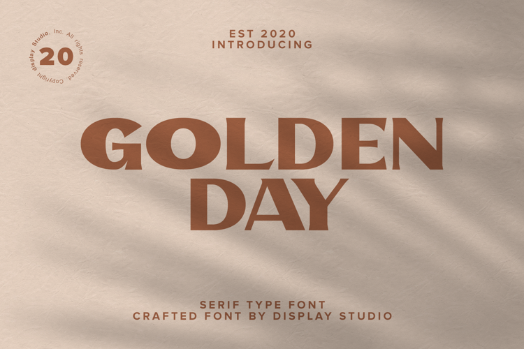 Golden Day Font