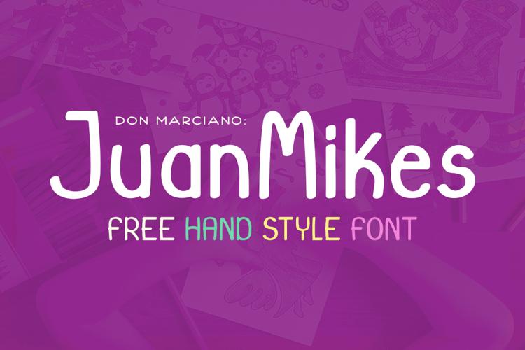 JuanMikes Font