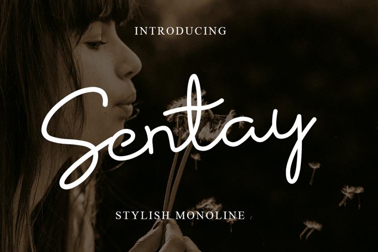 Sentay Font