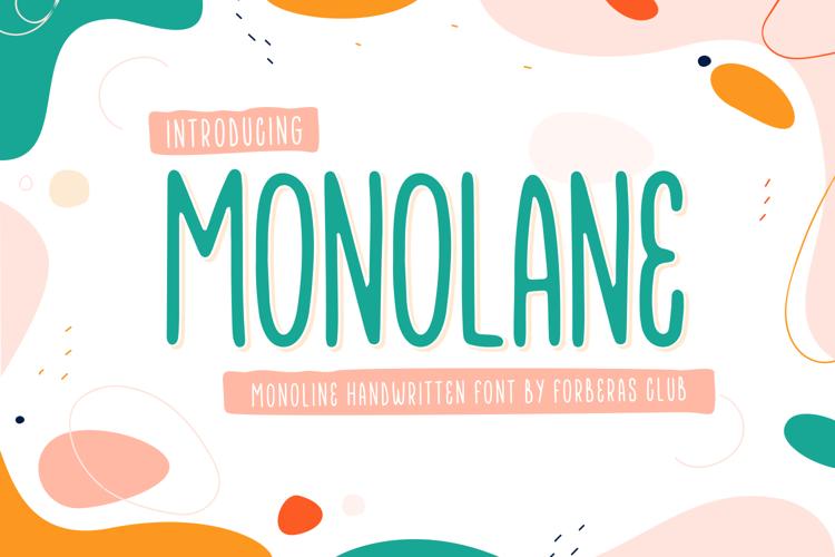 Monolane Font