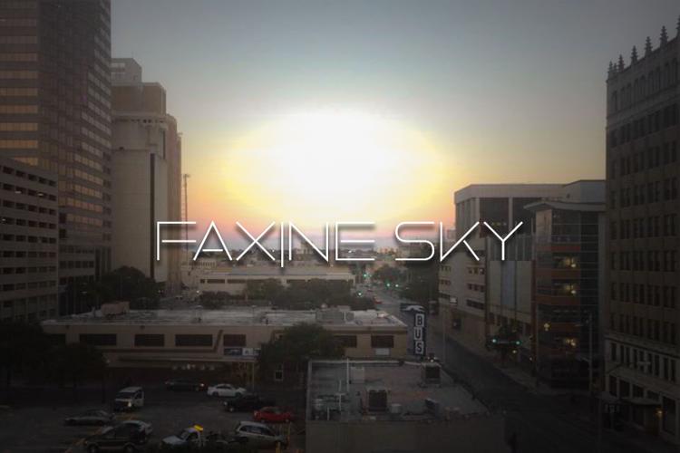 Faxine Sky Font
