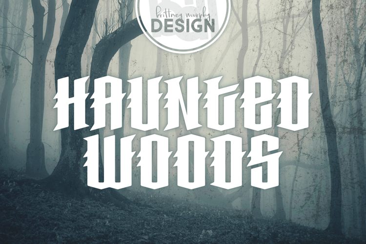 Haunted Woods Font