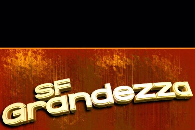 SF Grandezza Font