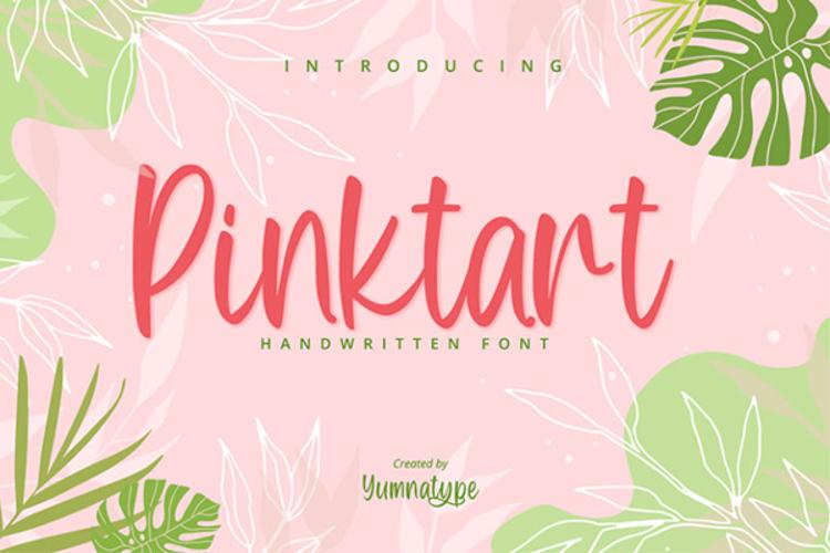 Pinktart Font