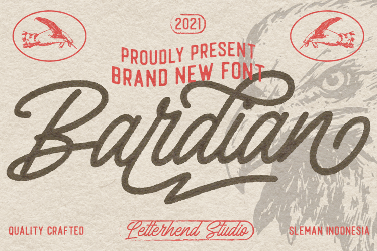 The Bardian Font