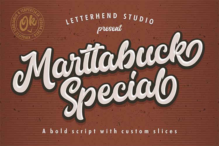 Marttabuck DEMO Font