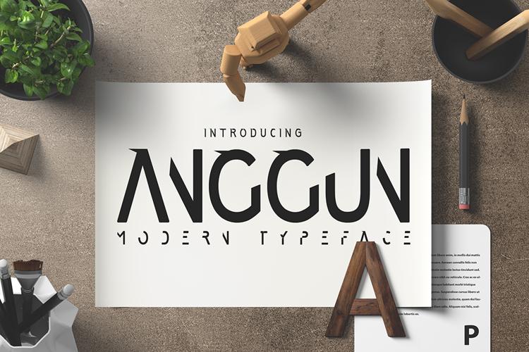 Anggun Sans Font