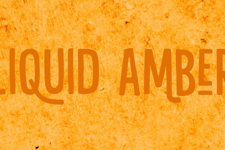 Liquid Amber DEMO Font