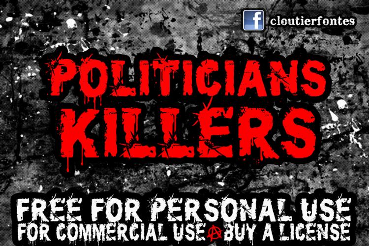 CF Politicians Killers Font