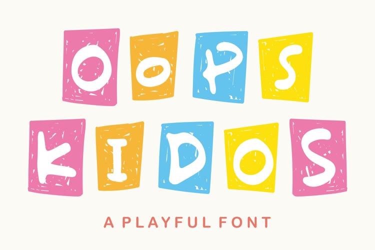 Oops Kidos Font