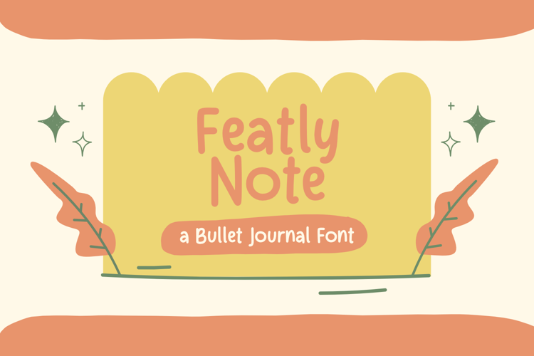 Featly Note Font