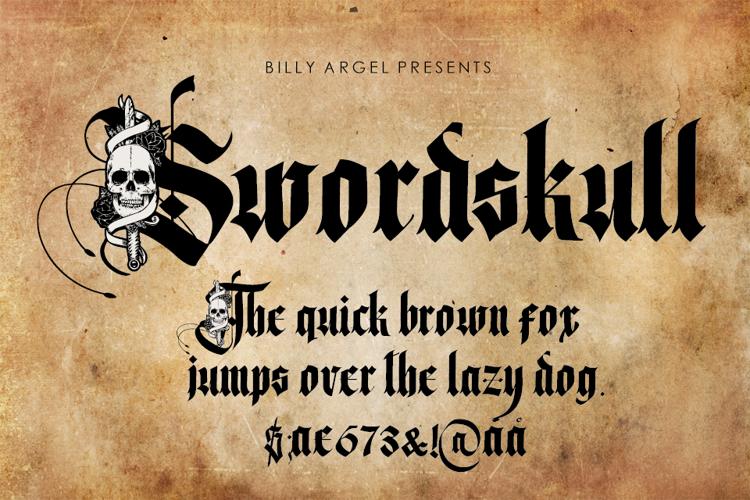 Swordskull Font