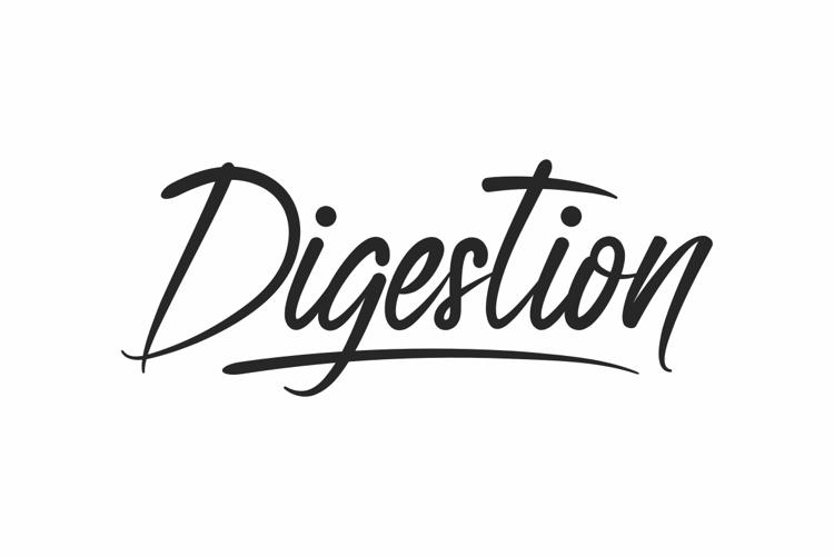 Digestion Font