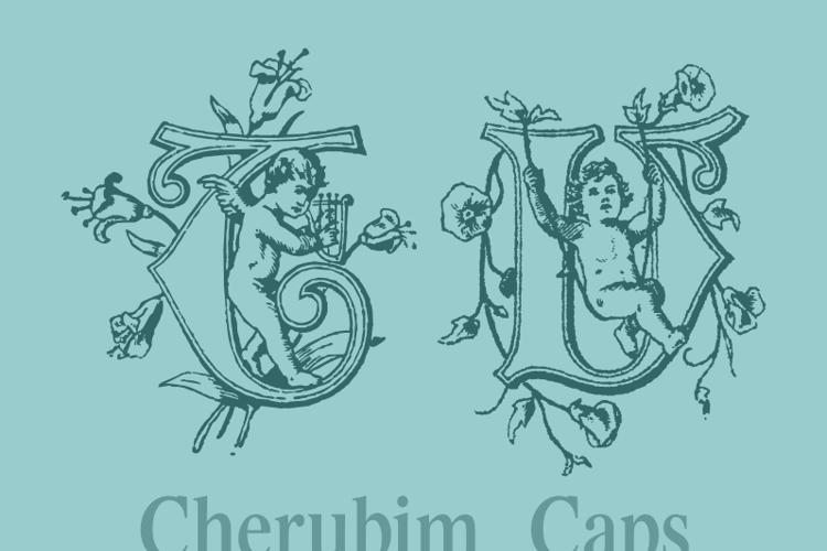 CherubimCaps Font