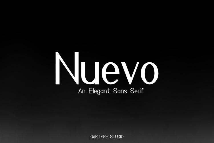 Nuevo Font
