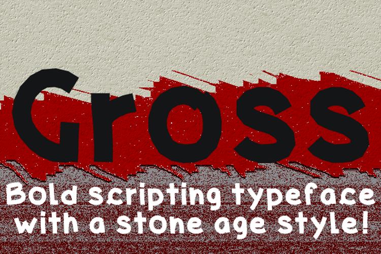 Gross Font