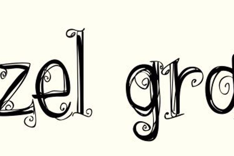 hazel grace Font