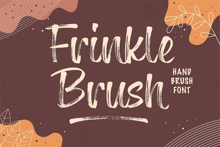 Frinkle Brush Font