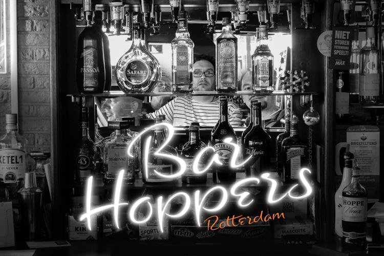 Bar Hoppers Demo Font