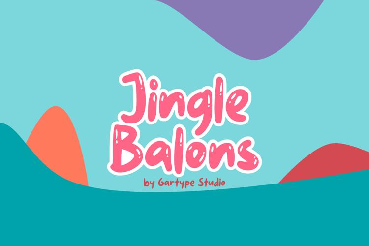 Jingle Balons GT Font