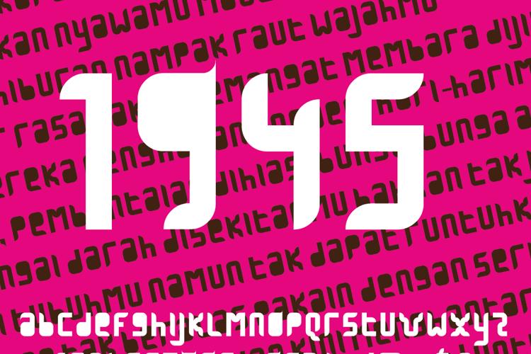 1945 Font