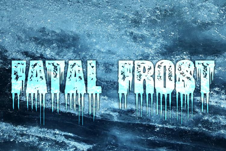 Fatal Frost Font