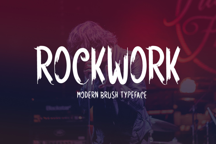 Rockwork Font