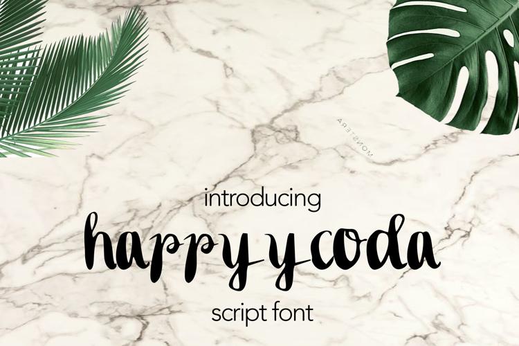 happyycoda Font