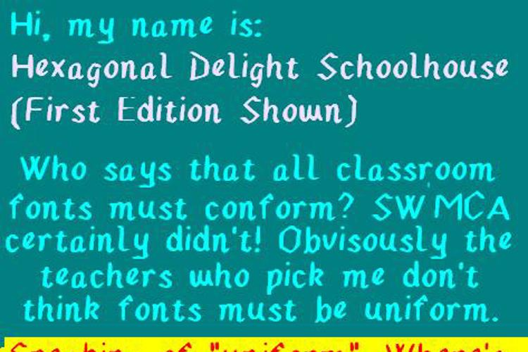 Hexagonal Delight Font