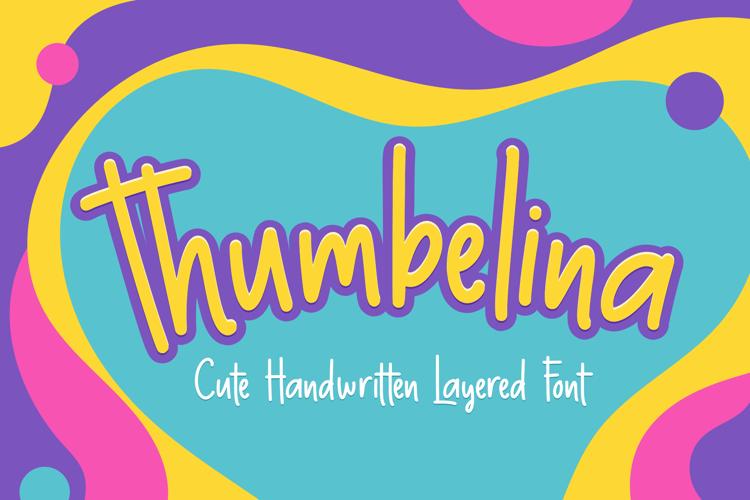 Thumbelina Font