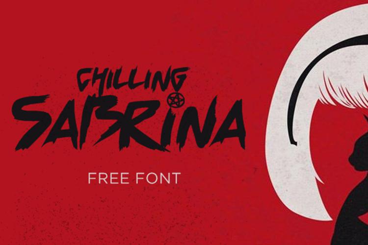 Chilling Sabrina Font