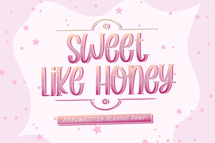 Sweet Like Honey Font