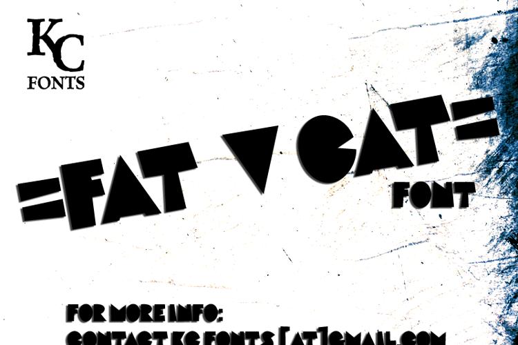 Fat Cat Font