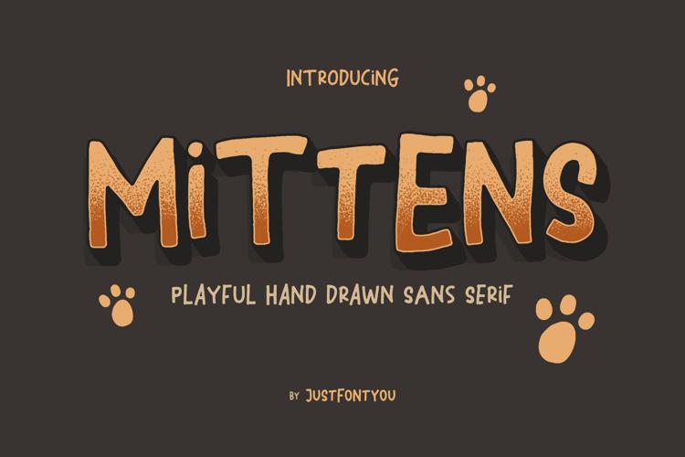 Mittens Font