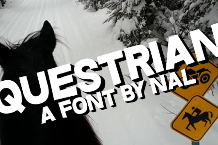 Questrian Font