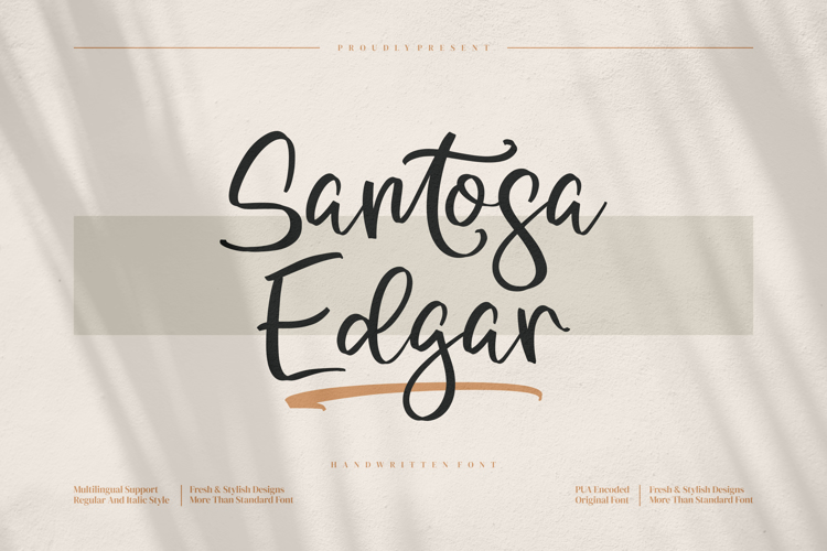 Santosa Edgar Font