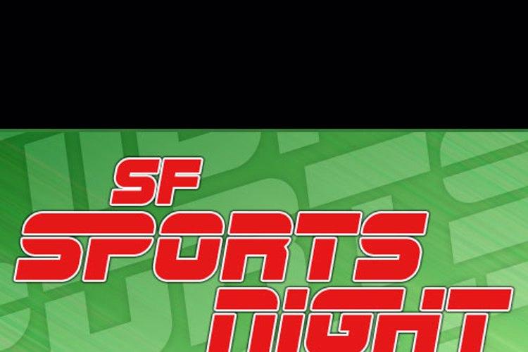 SF Sports Night Font