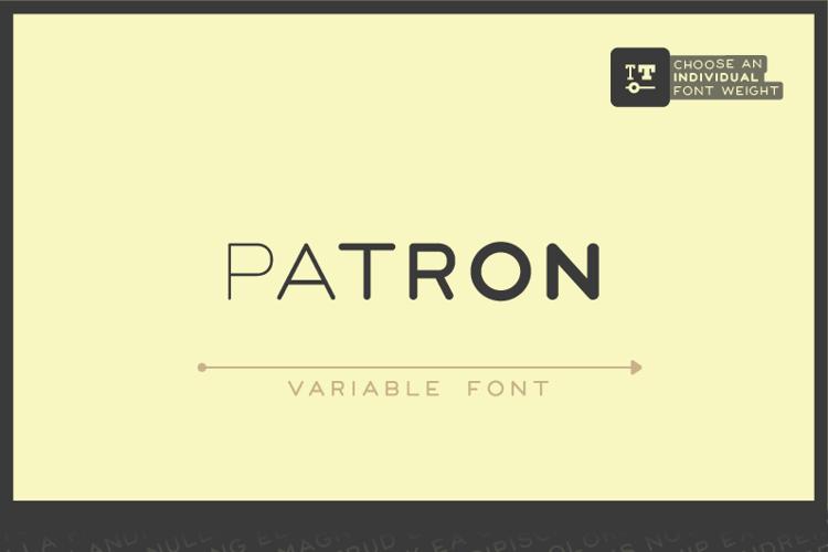 Patron Font