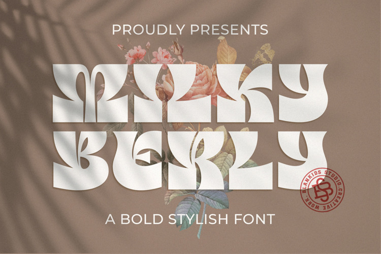 Milky Berly Font