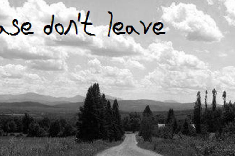 Please Dont Leave NBP Font