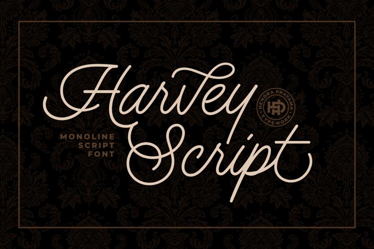 Harvey Script Font