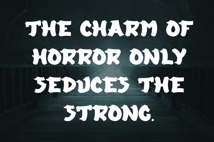 Evil Inside Font