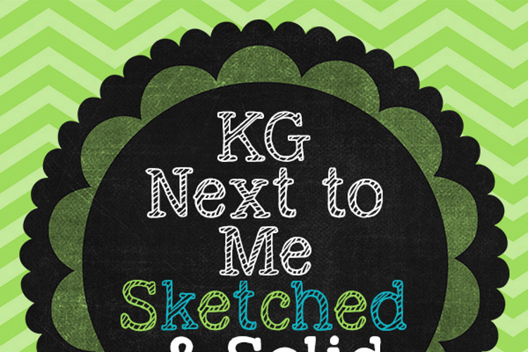 KG Next to Me Font