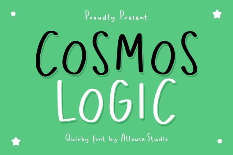Cosmos Logic Font
