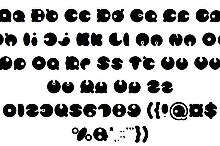 masterpanda Font