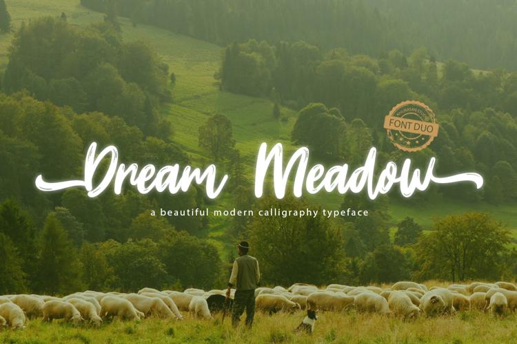 Dream Meadow Font