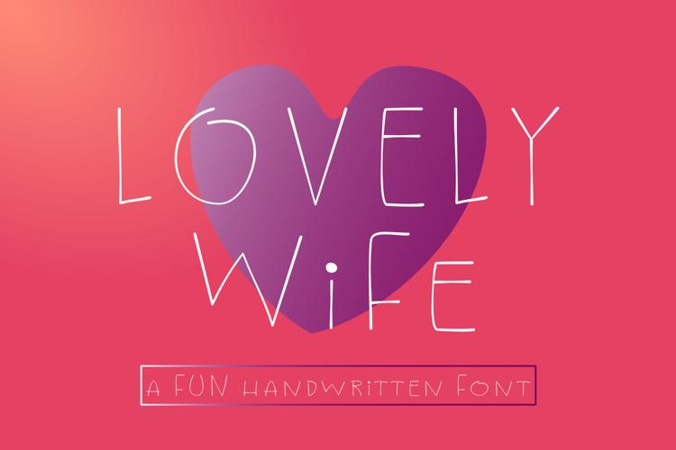 Lovely Wife Font